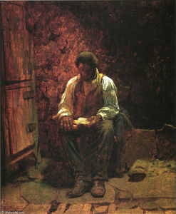 Jonathan Eastman Johnson - The Chimney Corner