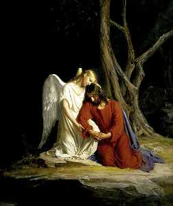 Carl Heinrich Bloch - Christ in Gethsemane