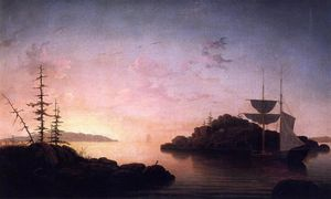 Fitz Hugh Lane - Christmas Cove
