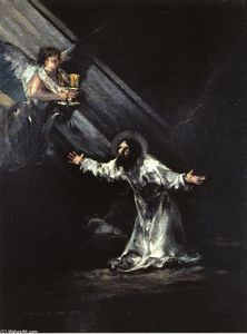 Francisco De Goya - Christ on the Mount of Olives