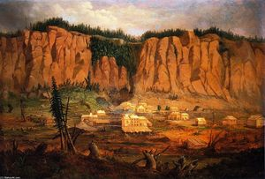 Robert Scott Duncanson - Cliff Mine