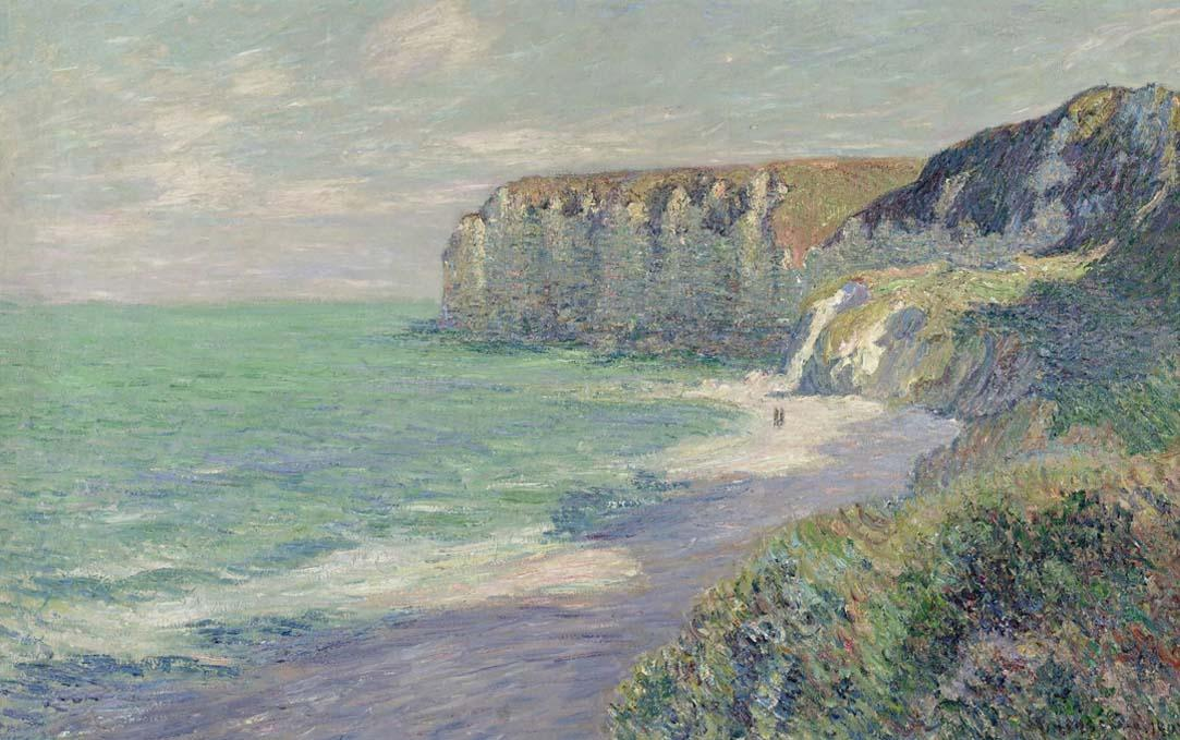 Cliffs at Saint Jouin, 1907 by Gustave Loiseau (1865-1935, France) | Museum Quality Reproductions | WahooArt.com