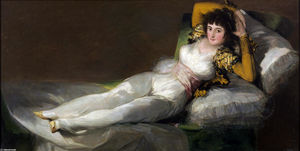 Francisco De Goya - The Clothed Maja