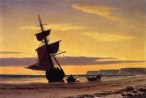 William Bradford - Coastal Scene