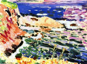 Henri Matisse - The Coast of Collioure (also known as La Moulade)