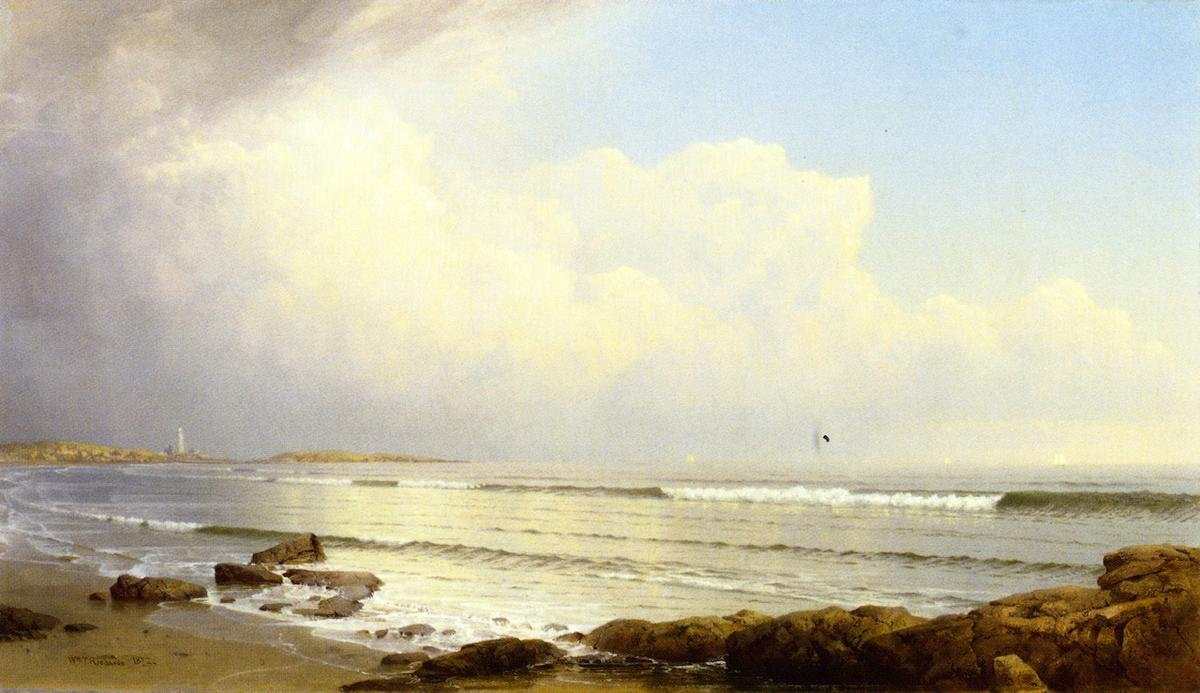 Coast Scene 1872 By William Trost Richards 1833 1905 United States Museum Quality Reproductions