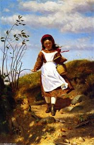 John George Brown - Coming Home from School
