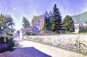 Paul Signac - Complat-le-Chateau. The Castle, Opus 160