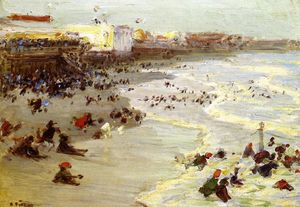 Edward Henry Potthast - Coney Island