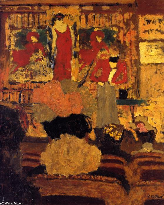 The Conjuring Act, Oil On Panel by Jean Edouard Vuillard (1868-1940, France)