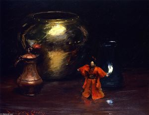 William Merritt Chase - Copper and Brass