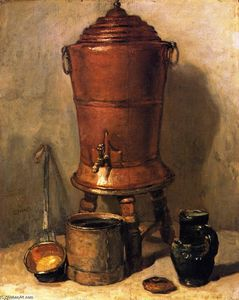 Jean-Baptiste Simeon Chardin - The Copper Cistern