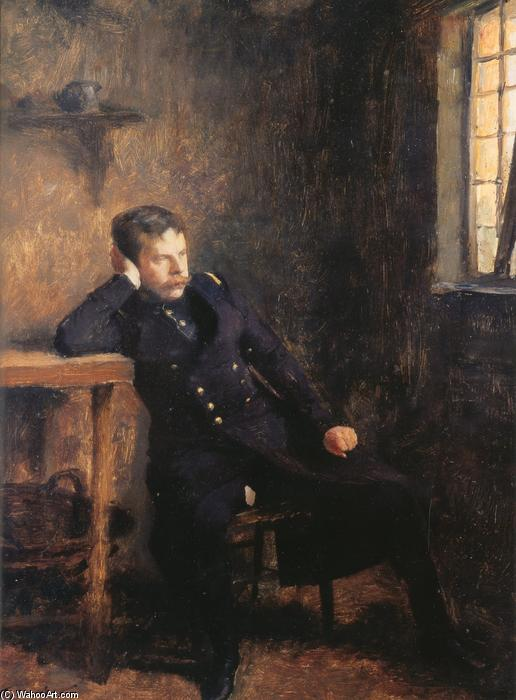 Coquelin Senior in the Role of Jean Dacier by Émile Friant (1863-1932, France)