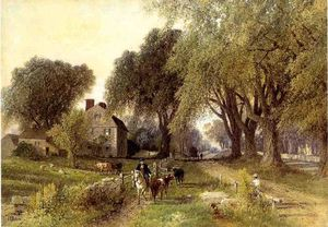 Albert Fitch Bellows - Country Life