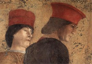 Andrea Mantegna - The Court of Mantua (detail)