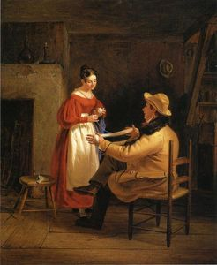 William Sidney Mount - Courtship (also known as Winding Up)