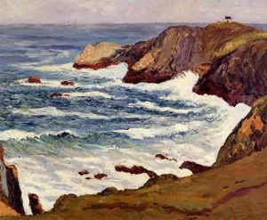 Maxime Emile Louis Maufra - The Cove at Cape Suzon