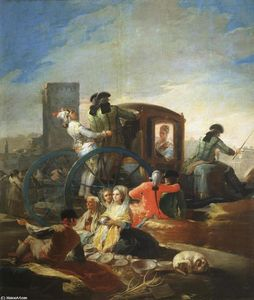 Francisco De Goya - The Crockery Vendor