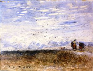 David Cox - Crossing the Moor