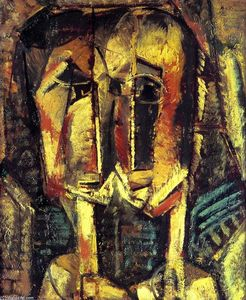 Alfred Henry Maurer - Cubist Two Heads