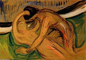Buy Museum Art Reproductions | Cupido, 1907 by Edvard Munch (1863-1944, Sweden) | WahooArt.com