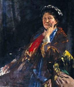 William Newenham Montague Orpen - Dame Madge Kendal