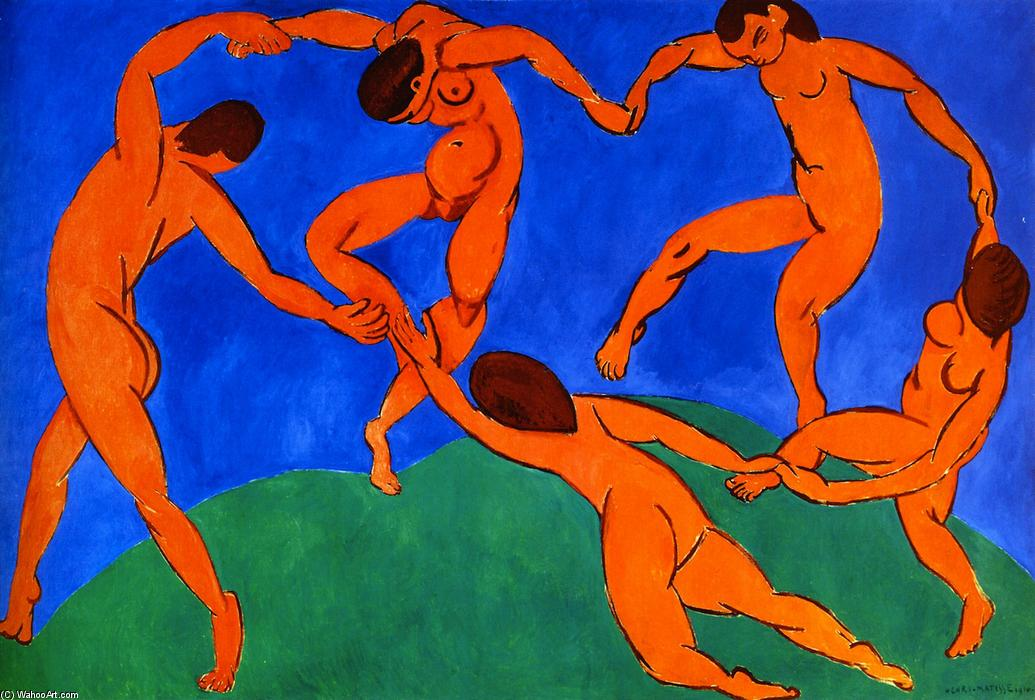 The Dance, Oil On Canvas by Henri Matisse (1869-1954, France)