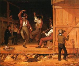 William Sidney Mount - Dance of the Haymakers