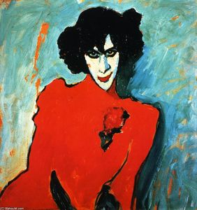 Alexej Georgewitsch Von Jawlensky - The Dancer Sacharoff