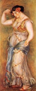 Pierre-Auguste Renoir - Dancer with Castanettes