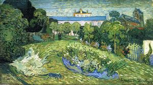 Vincent Van Gogh - Daubigny's Garden - (oil painting reproductions)