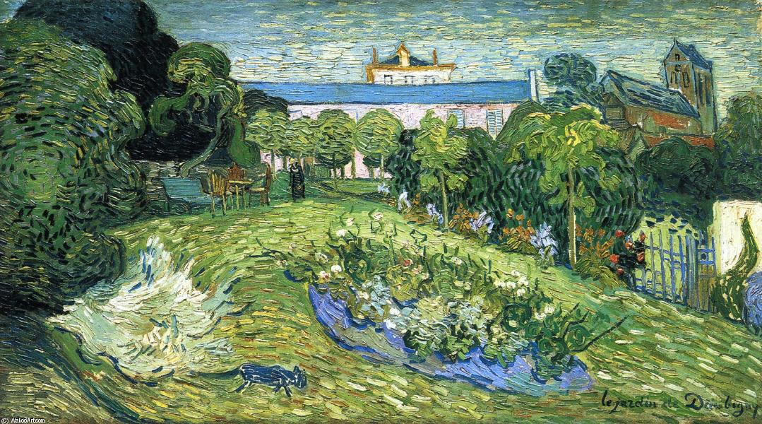 Daubigny's Garden, Oil On Canvas by Vincent Van Gogh (1853-1890, Netherlands)
