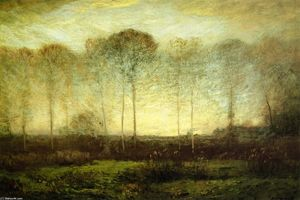 Dwight William Tryon - Dawn