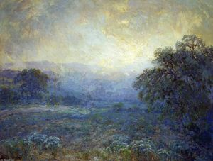 Robert Julian Onderdonk - Dawn in the Hills