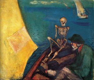 Edvard Munch - Death at the helm