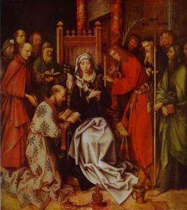 Hans Holbein The Elder - Death of the Virgin