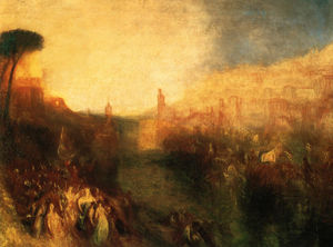 William Turner - Departure of the Fleet