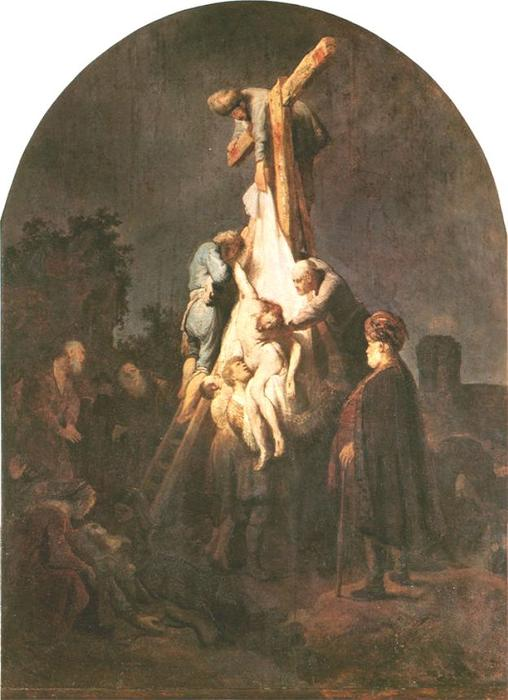 Order Reproductions | Deposition from the Cross, 1634 by Rembrandt Van Rijn (1606-1669, Netherlands) | WahooArt.com