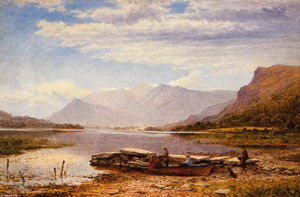 Benjamin Williams Leader - Derwentwater from Ladore