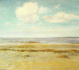 William Merritt Chase - The Deserted Beach