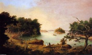 Charles Codman - Diamond Cove on Hog Island, Casco Bay