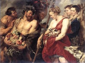 Peter Paul Rubens - Diana Returning from Hunt