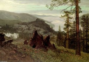 Albert Bierstadt - Division Lake, California