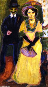 Ernst Ludwig Kirchner - Dodo and Her Brother
