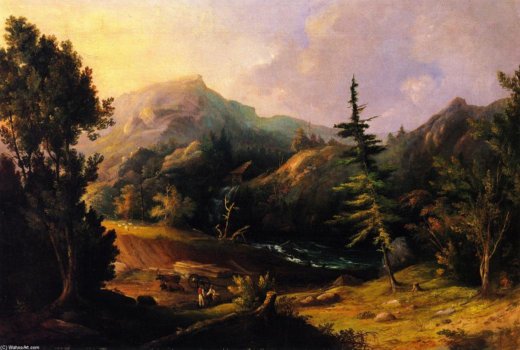 Down East, 1838 by Charles Codman (1800-1842, United States) | Museum Quality Reproductions | WahooArt.com