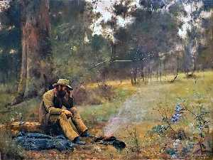 Frederick Mccubbin - Down on His Luck