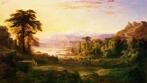Robert Scott Duncanson - A Dream of Italy