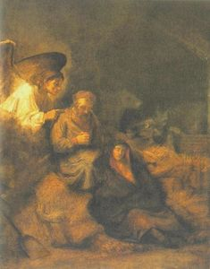 Rembrandt Van Rijn - The Dream of St Joseph