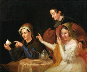 William Sidney Mount - Dregs in the Cup (also known as Fortune Telling)