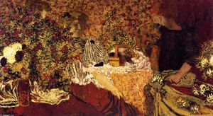 Jean Edouard Vuillard - The Dressing Table